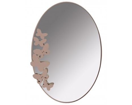 BUTTERFLY oval mirror