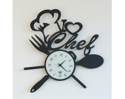I LOVE CHEF  clock