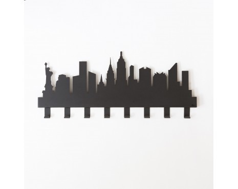 NEW YORK coat hooks